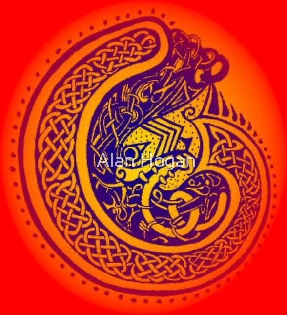Celtic Red  by Alan Hogan