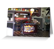 The 50's Diner in Deloraine Greeting Card