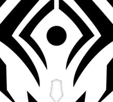 Stalker Sigil (Black) Sticker