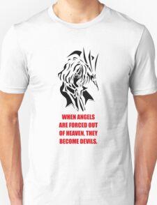The Fallen Angel (black edition) T-Shirt