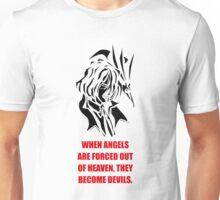 The Fallen Angel (black edition) Unisex T-Shirt