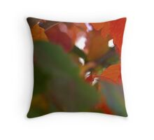 Autumn Triptich I Throw Pillow