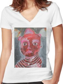 May 14 Number 7 Women's Fitted V-Neck T-Shirt