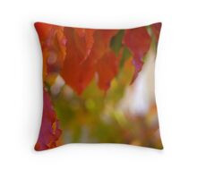 Autumn Triptich III Throw Pillow