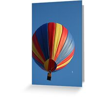 Over the moon! Greeting Card