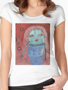May 14 Number 4 Women's Fitted Scoop T-Shirt