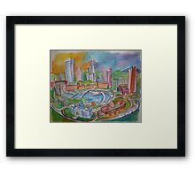 Providence, Rhode Island.... A Colorful City Framed Print