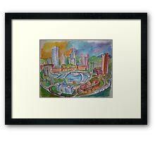 Providence, Rhode Island.... A Colorful City Framed Print