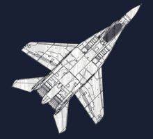 Mig 29 Fighter Plane Kids Clothes