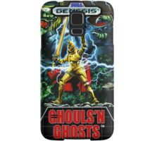 Ghouls'n Ghosts Genesis Megadrive Sega Box cover Samsung Galaxy Case/Skin