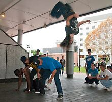 Breakdancers 1 by Werner Padarin