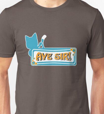 Happy sais Aye Sir! Unisex T-Shirt