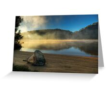 Beached Rock - Hawkesbury River Greeting Card