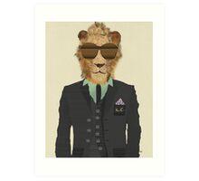 mr king cool Art Print