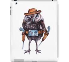 cowboy owl iPad Case/Skin