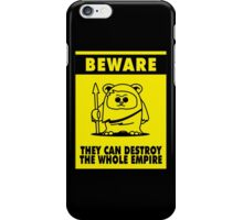 Beware iPhone Case/Skin