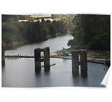 Bridge under construction Poster