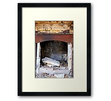 Stories Around the Old Fireplace - Premer NSW Framed Print