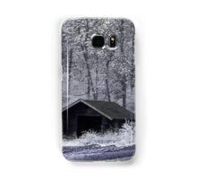 Hut in infrared Samsung Galaxy Case/Skin