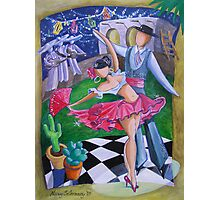 Spicy Salsa Dance Photographic Print