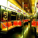 Subway car by Tom  Marriott