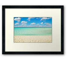 Varadero Beach, Cuba Framed Print