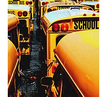 School Bus Photographic Print