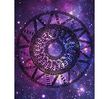 Space Circle Photographic Print