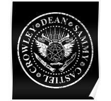 Supernatural Ramones Poster