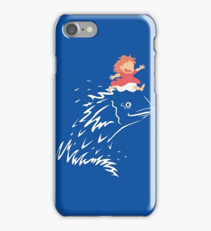 Little Fish Girl iPhone Case/Skin