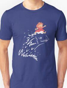 Little Fish Girl Unisex T-Shirt