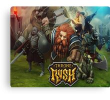 Throne Rush Canvas Print