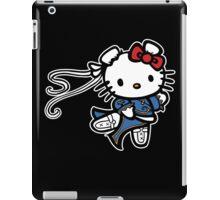 kitty Street Fighter iPad Case/Skin