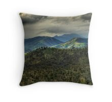 Over the Hills and Far Away... Throw Pillow