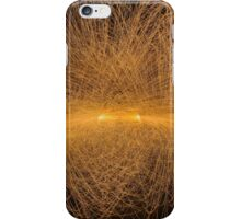 Particle Collision and Blackhole in LHC  iPhone Case/Skin