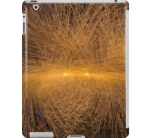 Particle Collision and Blackhole in LHC  iPad Case/Skin