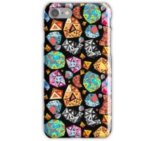 abstract pattern of polygons iPhone Case/Skin