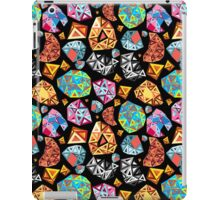 abstract pattern of polygons iPad Case/Skin