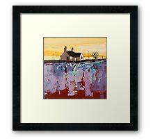 Crinan Croft Framed Print