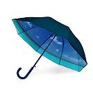 Umbrella with Caribbean Beach pattern on by Bruno Beach
