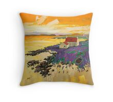 Shore Croft, Barra Throw Pillow