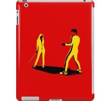 The Yellow Suit Fight iPad Case/Skin