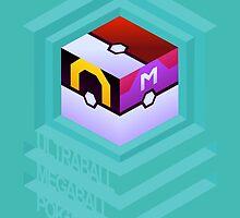 PokéCube Phone Cover by cashews
