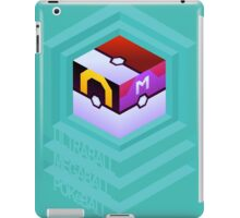 PokéCube Phone Cover iPad Case/Skin