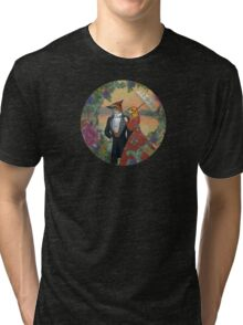An Evening Stroll Tri-blend T-Shirt