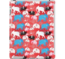 pattern of elephants in the clouds iPad Case/Skin