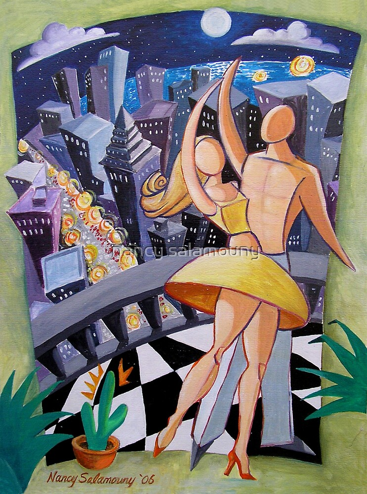 Moonlight Dance by nancy salamouny