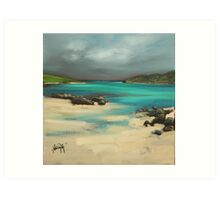 Vatersay and Barra Art Print
