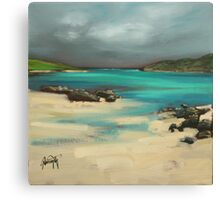 Vatersay and Barra Canvas Print