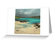 Vatersay and Barra Greeting Card